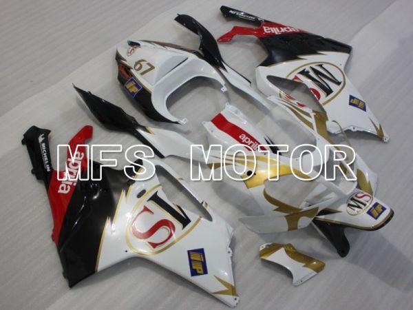 Aprilia RSV 1000 R 2004-2009 ABS Fairing - Others - Black White - MFS4327