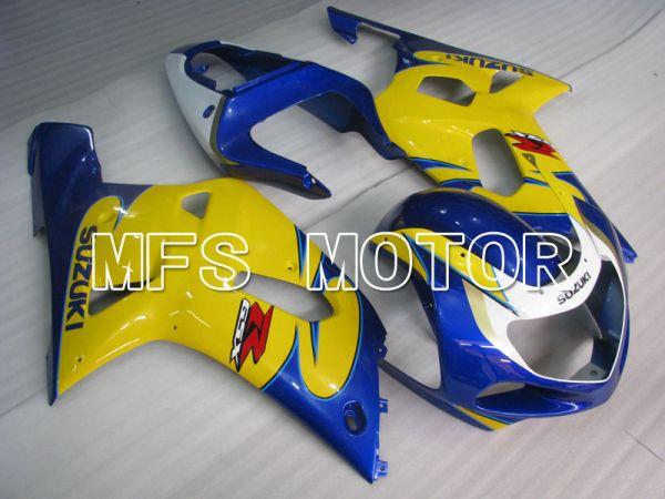 Suzuki GSXR1000 2000-2002 Injection ABS Fairing - Factory Style - Blue Yellow - MFS4330