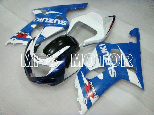Suzuki GSXR1000 2000-2002 Injection ABS Fairing - Factory Style - Blue White - MFS4336