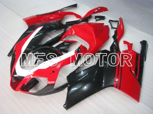 Aprilia RSV 1000 R 2004-2009 ABS Fairing - Factory Style - Black Red - MFS4338