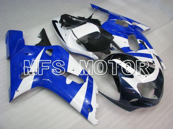 Suzuki GSXR1000 2000-2002 Injection ABS Fairing - Factory Style - Blue White - MFS4339