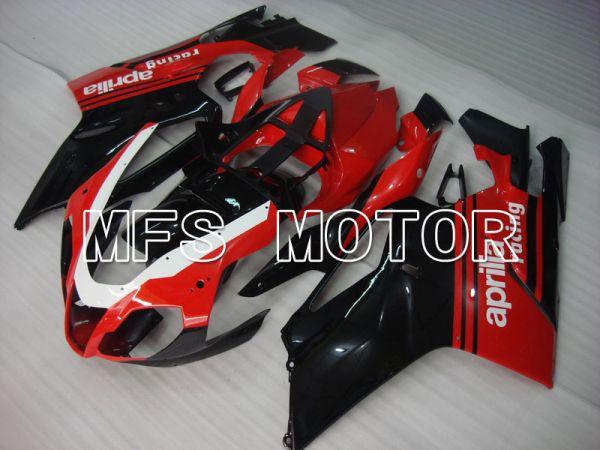 Aprilia RSV 1000 R 2004-2009 ABS Fairing - Factory Style - Black Red - MFS4340