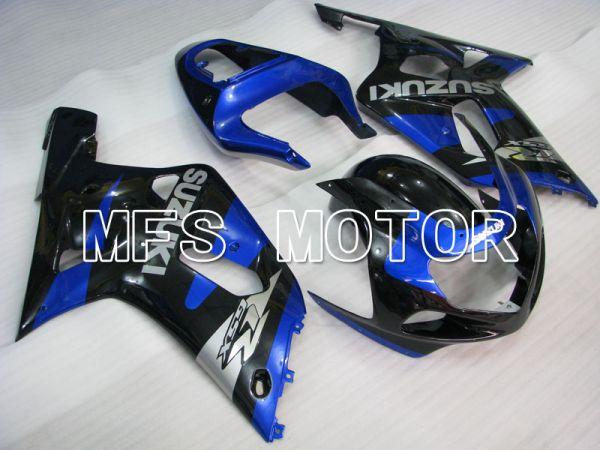 Suzuki GSXR1000 2000-2002 Injection ABS Fairing - Factory Style - Blue Black - MFS4341
