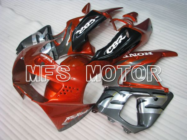 Honda CBR900RR 919 1998-1999 ABS Fairing - Factory Style - Red wine color Gray - MFS4345