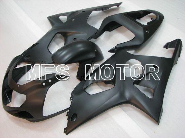 Suzuki GSXR1000 2000-2002 Injection ABS Fairing - Factory Style - Black Matte - MFS4354