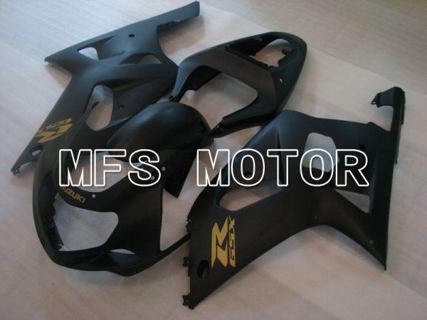 Suzuki GSXR1000 2000-2002 Injection ABS Fairing - Factory Style - Black Matte - MFS4358