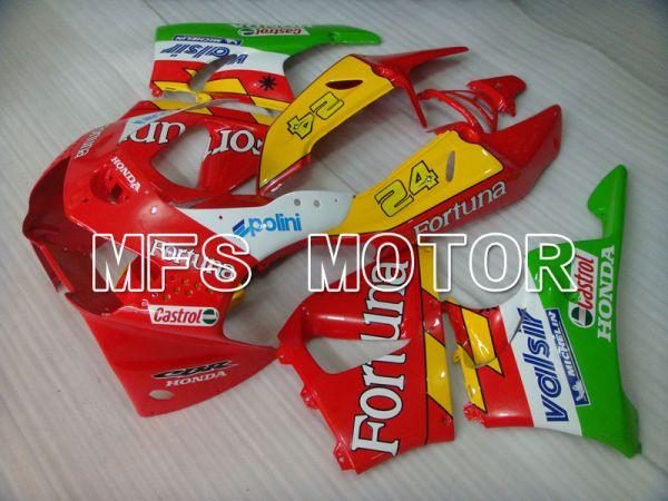 Honda CBR900RR 919 1998-1999 ABS Fairing - Fortuna - Red Yellow Green - MFS4367
