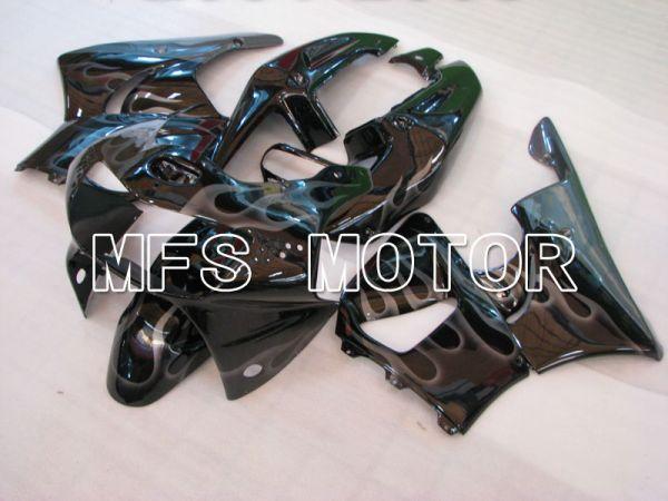 Honda CBR900RR 919 1998-1999 ABS Fairing - Flame - White Black - MFS4396