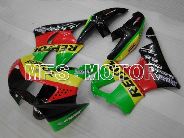 Honda CBR900RR 919 1998-1999 ABS Fairing - Repsol - Black Red Green - MFS4421