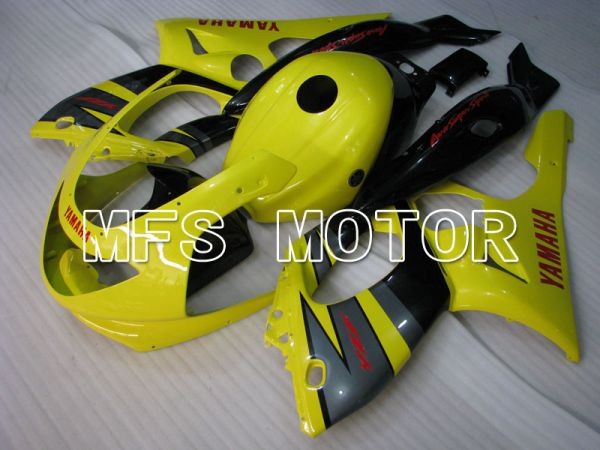 Yamaha YZF-600R 1997-2007 Injection ABS Fairing - Factory Style - Yellow Gray - MFS4435