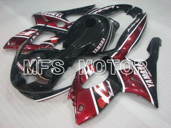 Yamaha YZF-600R 1997-2007 Injection ABS Fairing - Factory Style - Red wine color Black Silver - MFS4456