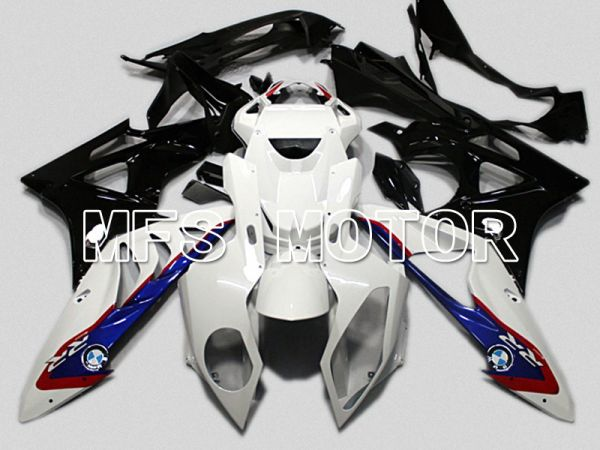 BMW S1000RR 2009-2014 Injection ABS Fairing - Factory Style - Black White Blue - MFS4481