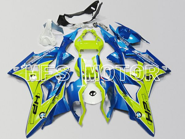 BMW S1000RR 2009-2014 Injection ABS Fairing - Others - Green Blue - MFS4483