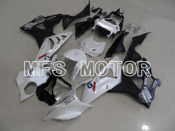 BMW S1000RR 2009-2014 Injection ABS Fairing - Factory Style - Black White - MFS4494