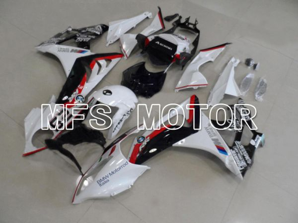 BMW S1000RR 2009-2014 Injection ABS Fairing - Factory Style - Black White Red - MFS4500
