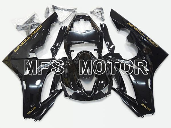 Triumph Daytona 675 2009-2012  Injection ABS Fairing - Factory Style - Black - MFS4542