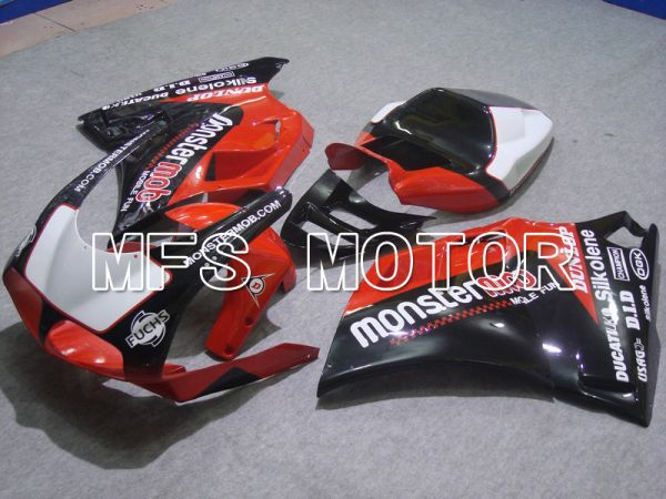 Ducati 748 / 998 / 996 1994-2002 Injection ABS Fairing - Monstermob - Black Red wine color - MFS4568