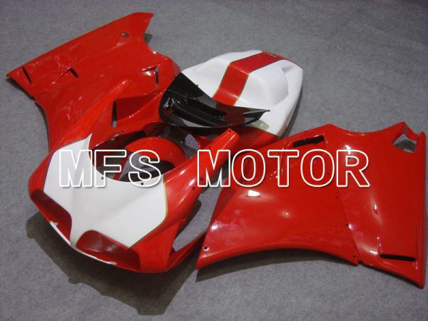 Ducati 748 / 998 / 996 1994-2002 Injection ABS Fairing - Factory Style - Red White - MFS4580