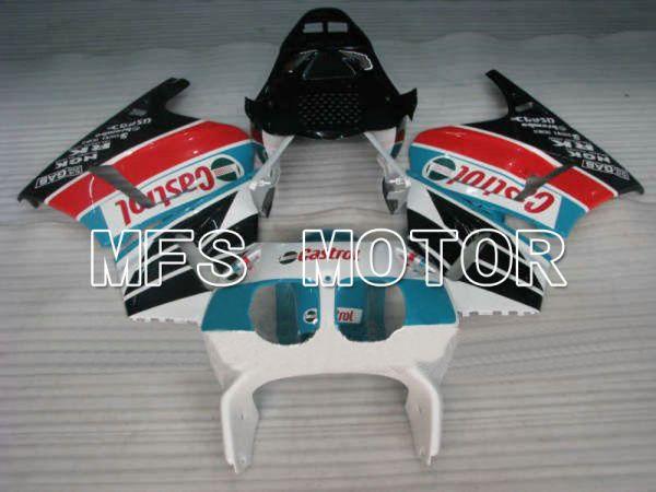 Honda CBR 400RR NC23 1988-1989 ABS Fairing - Castrol - Blue White Black - MFS4597