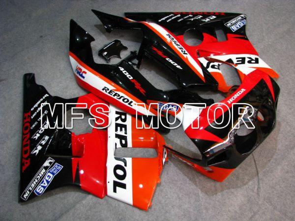 Honda CBR 400RR NC23 1988-1989 ABS Fairing - Repsol - Red Orange Black - MFS4604
