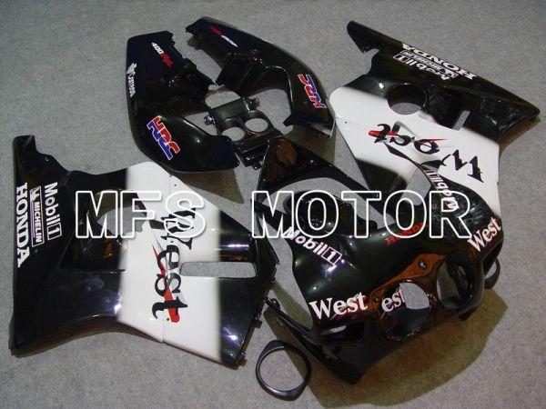 Honda CBR 400RR NC23 1988-1989 ABS Fairing - West - White Black - MFS4611