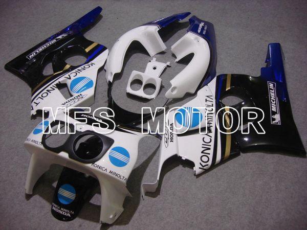 Honda CBR 400RR NC29 1990-1999 ABS Fairing - Konica Minolta - White Black - MFS4633