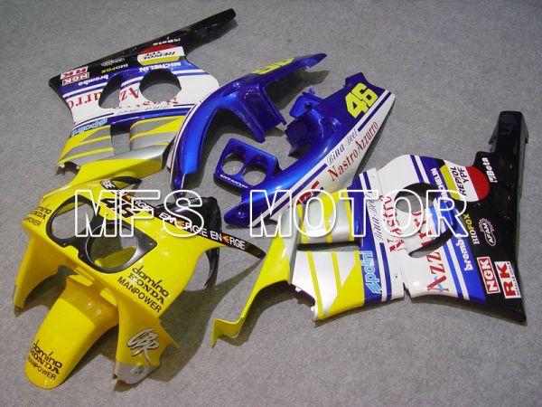 Honda CBR 400RR NC29 1990-1999 ABS Fairing - Nastro Azzurro - Blue Yellow White - MFS4635