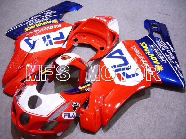 Ducati 749 / 999 2003-2004 Injection ABS Fairing - FILA - Red White - MFS4644
