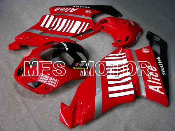 Ducati 749 / 999 2005-2006 Injection ABS Fairing - Alice - Red White - MFS4675