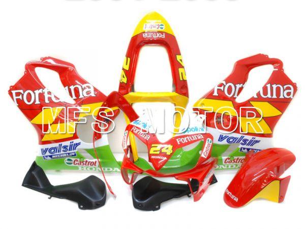 Honda CBR600 F4i 2001-2003 Injection ABS Fairing - Fortuna - Red Yellow Green - MFS4677