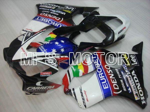 Honda CBR600 F4i 2001-2003 Injection ABS Fairing - Lee - Black White - MFS4687