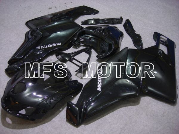 Ducati 749 / 999 2005-2006 Injection ABS Fairing - Factory Style - Black - MFS4691
