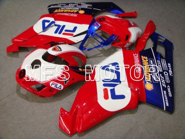 Ducati 749 / 999 2005-2006 Injection ABS Fairing - FILA - Red White - MFS4704