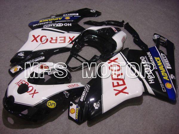 Ducati 749 / 999 2005-2006 Injection ABS Fairing - Xerox - Black White - MFS4722