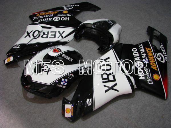 Ducati 749 / 999 2005-2006 Injection ABS Fairing - Xerox - Black White - MFS4723