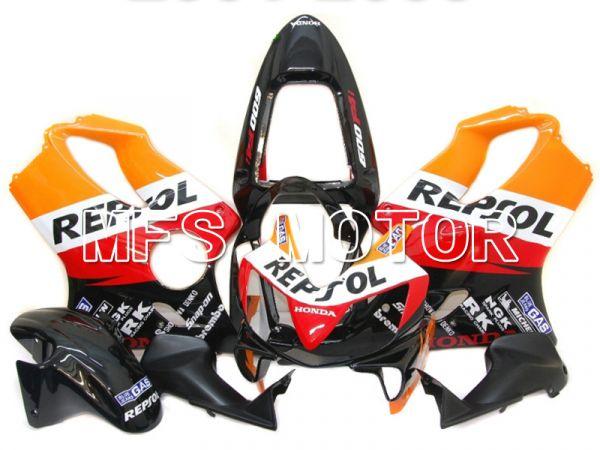 Honda CBR600 F4i 2001-2003 Injection ABS Fairing - Repsol - Black Orange Red - MFS4733