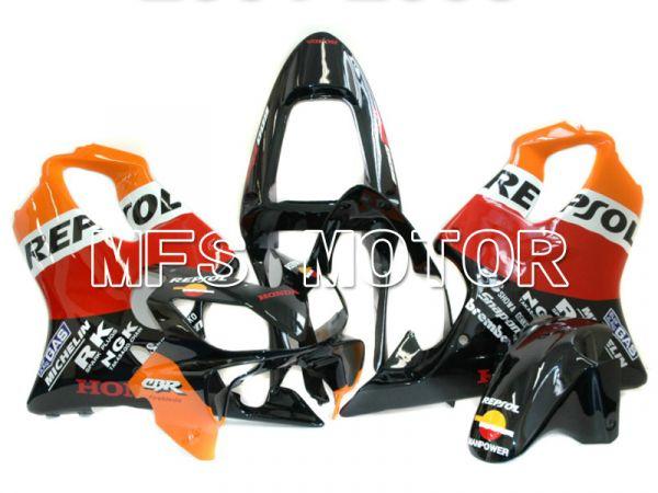 Honda CBR600 F4i 2001-2003 Injection ABS Fairing - Repsol - Black Orange Red - MFS4735