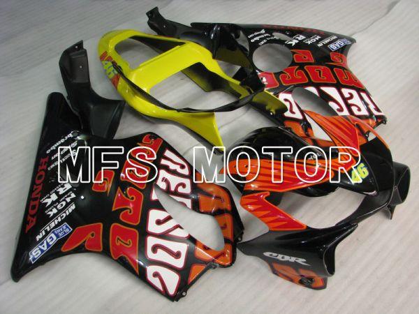 Honda CBR600 F4i 2001-2003 Injection ABS Fairing - Rossi - Black - MFS4742