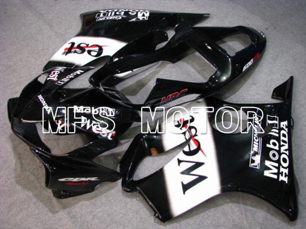 Honda CBR600 F4i 2001-2003 Injection ABS Fairing - West - Black White - MFS4751