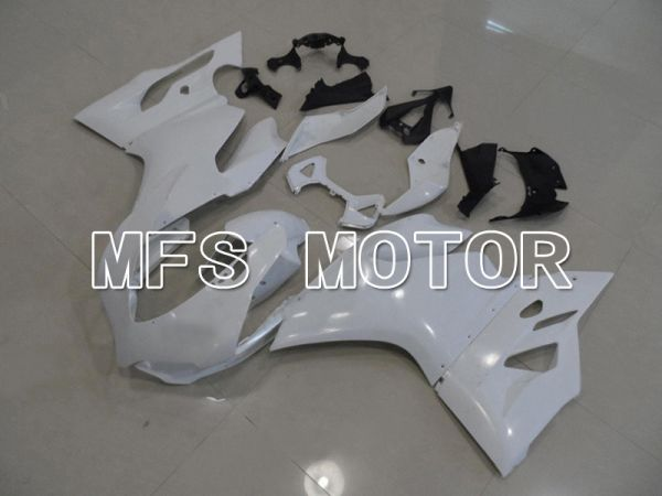 Ducati 1199 2011-2014 Injection ABS Fairing - Factory Style - White - MFS4795