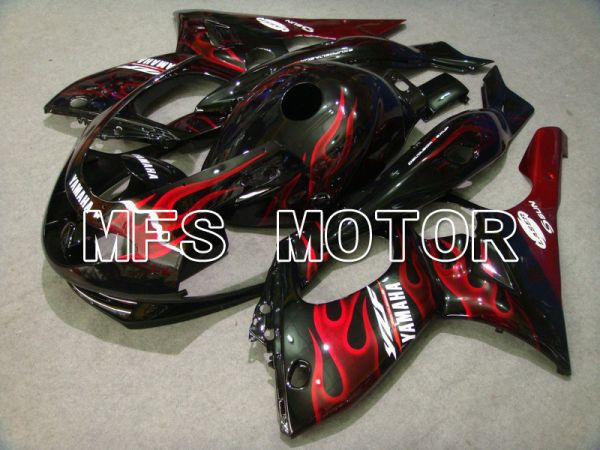 Yamaha YZF-600R 1997-2007 Injection ABS Fairing - Flame - Red wine color White - MFS4817
