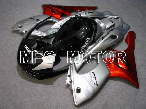Yamaha YZF-600R 1997-2007 Injection ABS Fairing - Factory Style - Red wine color Black Silver - MFS4845
