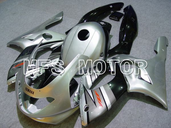 Yamaha YZF-600R 1997-2007 Injection ABS Fairing - Factory Style - Black Silver - MFS4847