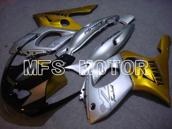 Yamaha YZF-600R 1997-2007 Injection ABS Fairing - Factory Style - Gold Silver - MFS4848