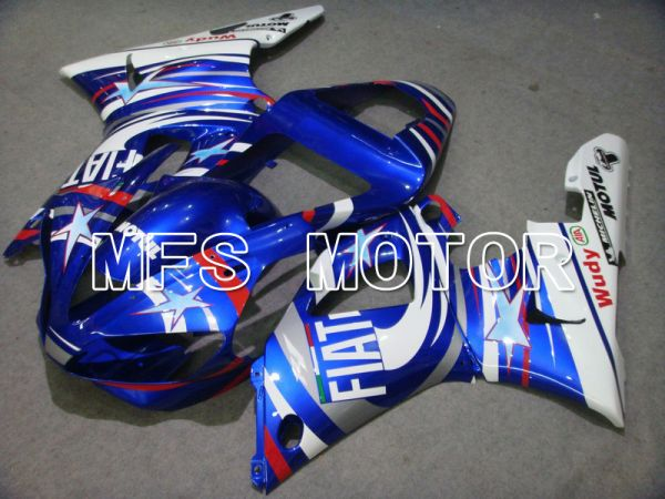 Yamaha YZF-R1 2000-2001 Injection ABS Fairing - FIAT - Blue White - MFS4858