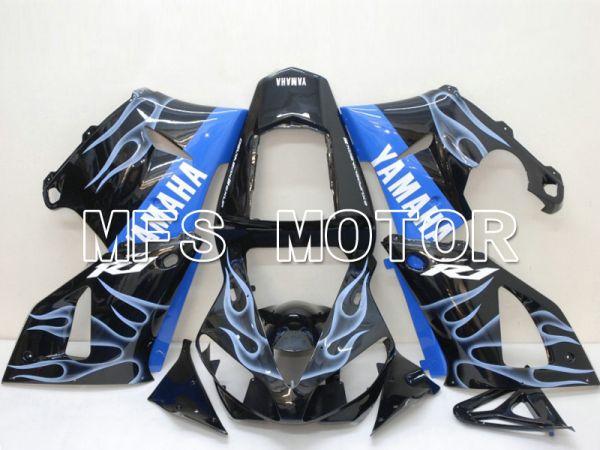 Yamaha YZF-R1 2000-2001 Injection ABS Fairing - Flame - Blue Black - MFS4869