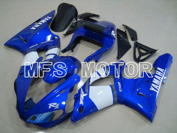 Yamaha YZF-R1 2000-2001 Injection ABS Fairing - Factory Style - Blue White - MFS4888