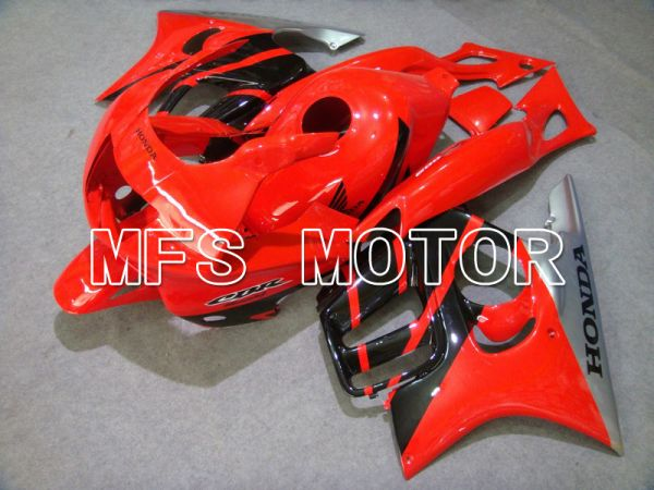 Honda CBR600 F3 1997-1998 Injection ABS Fairing - Factory Style - Black Red - MFS4970