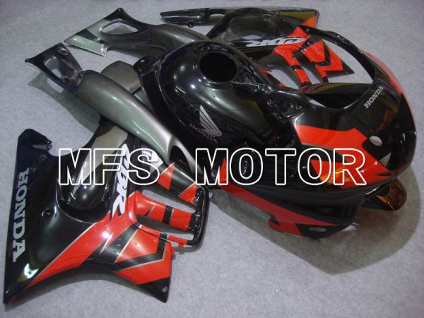 Honda CBR600 F3 1997-1998 Injection ABS Fairing - Factory Style - Black Red - MFS4971
