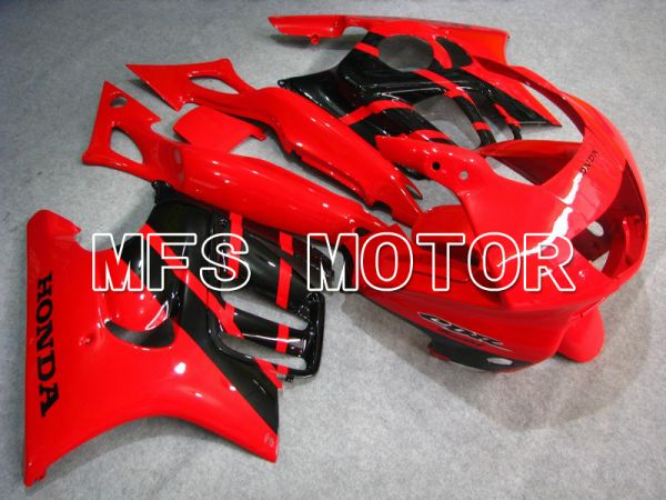 Honda CBR600 F3 1997-1998 Injection ABS Fairing - Factory Style - Black Red - MFS4972